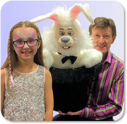 David with Rabbit